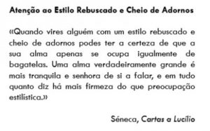 Considerações (elementares) sobre a ESCRITA 64